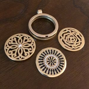 Nikki Lissoni Interchangeable Gold Filled pendants